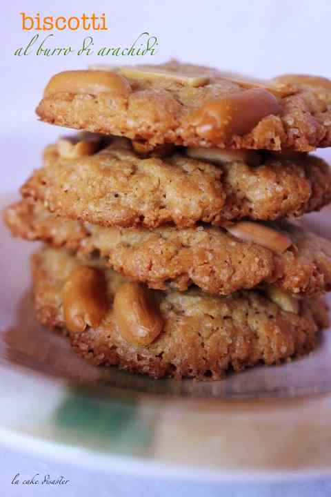 Ricetta: Biscotti al burro di arachidi