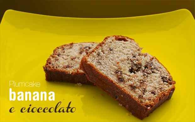 Ricetta: Plumcake banana e cioccolato