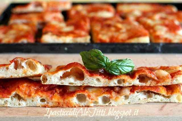 Ricetta: Pizza in teglia