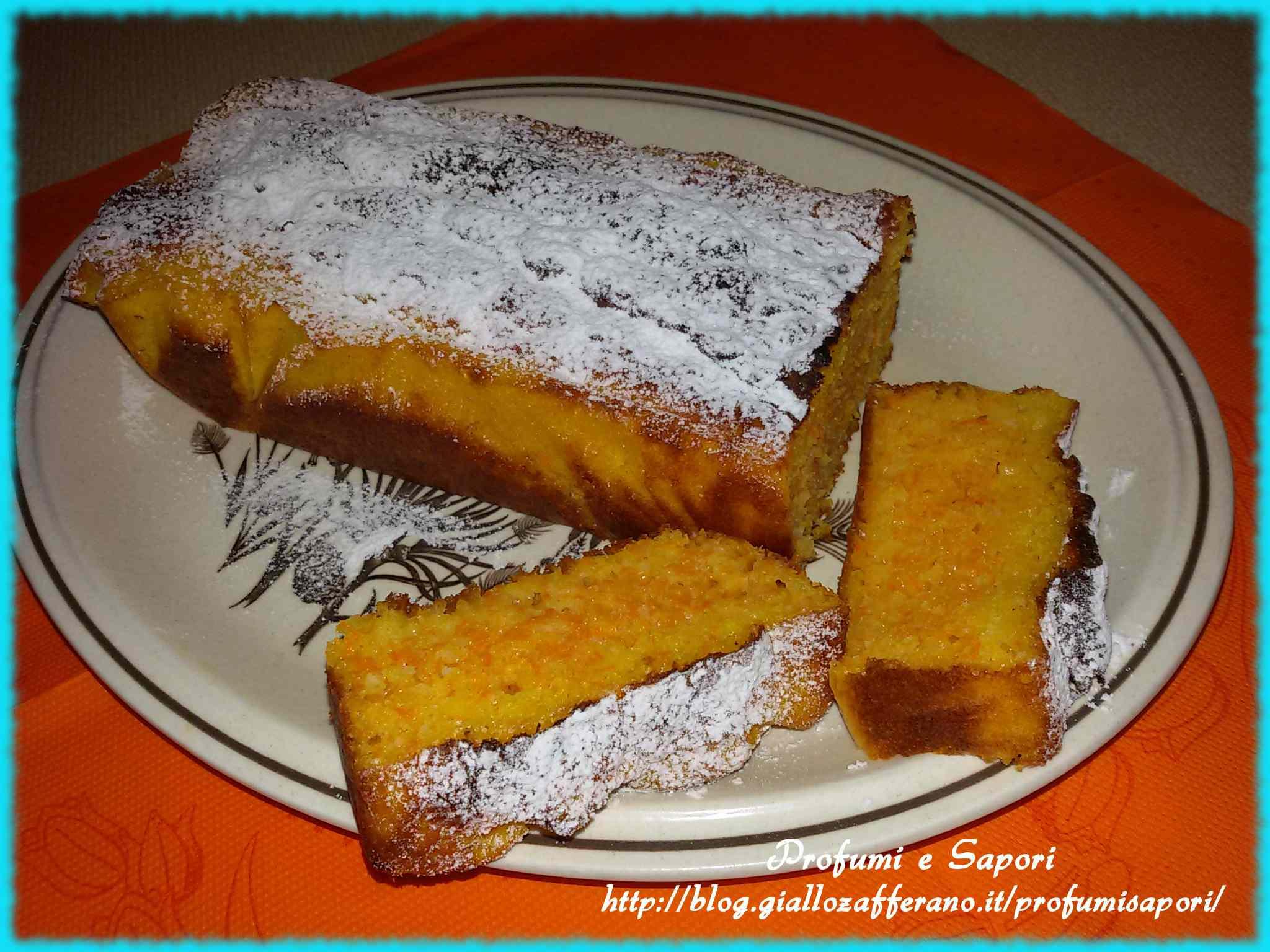 Ricetta: Plum cake alle carote e yogurt