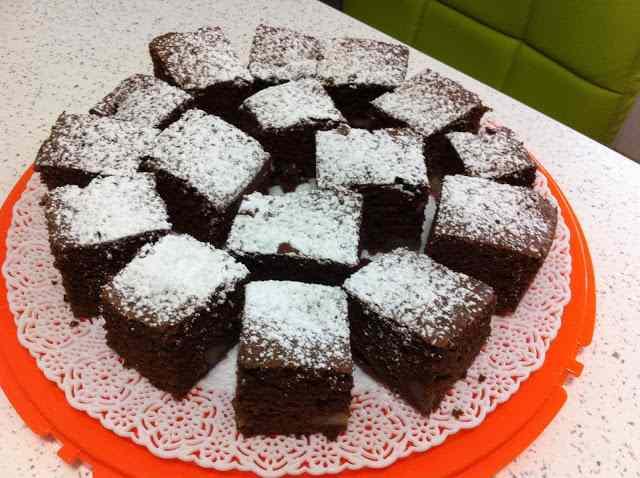 Ricetta: Torta con cioccolato fondente e pere