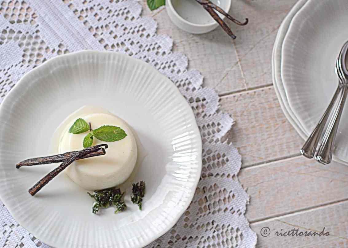 Ricetta: Budino alla vaniglia senza uova