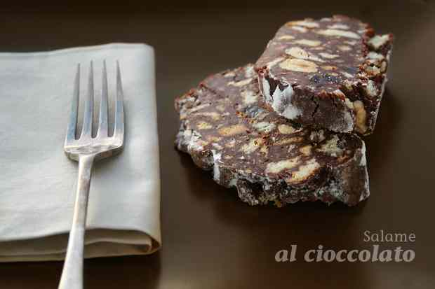 Ricetta: Salame al cioccolato