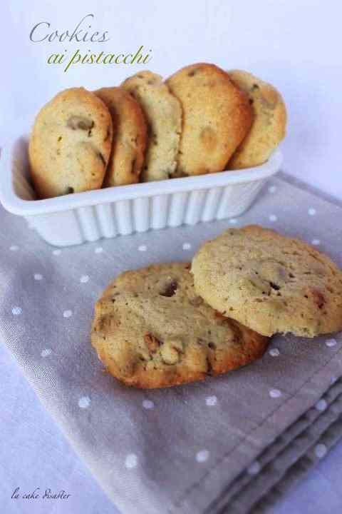 Ricetta: Cookies ai pistacchi