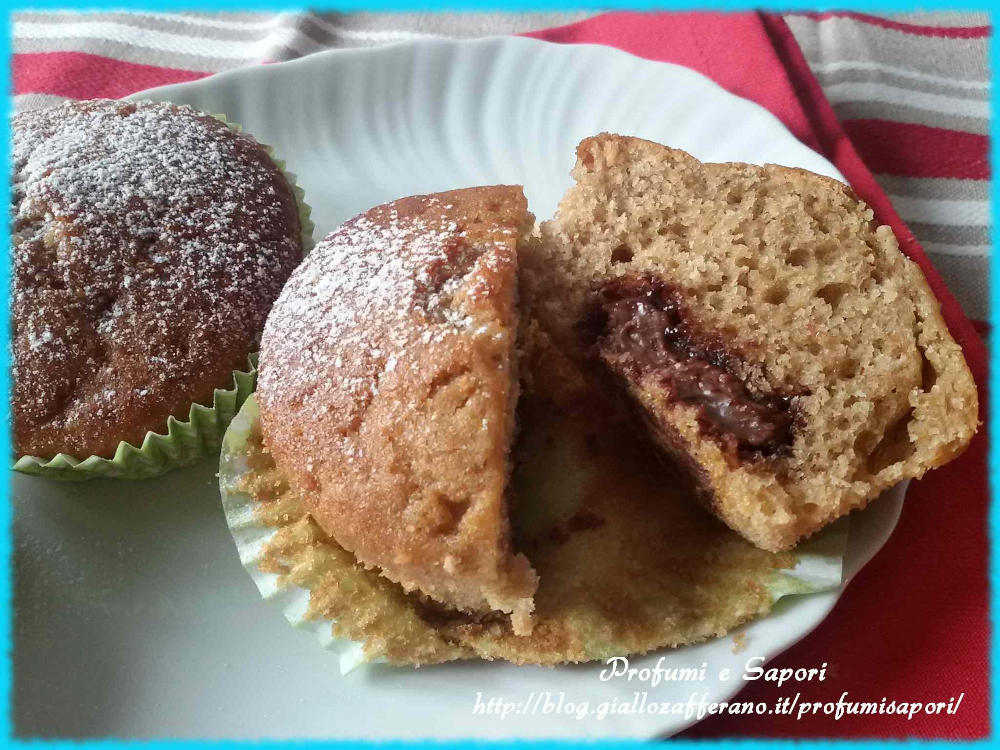 Ricetta: Muffin caffe e nutella