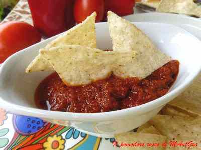 Ricetta: Chips di tortilla e bagnet rus