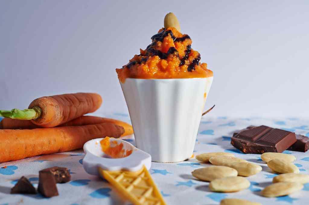 Ricetta: Gelato alle carote e mandorle
