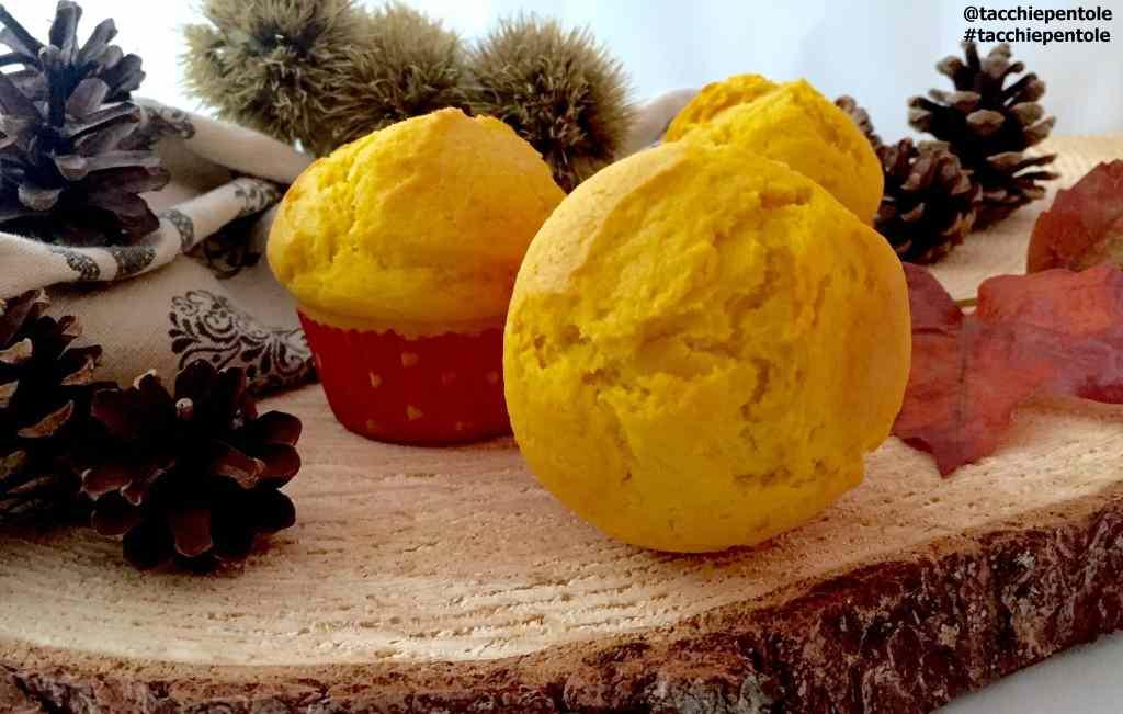 Ricetta: Muffin morbidi alla zucca speziati alla cannella