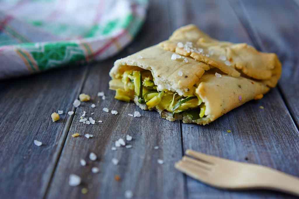 Ricetta: Zucchine ai cipollotti in crosta