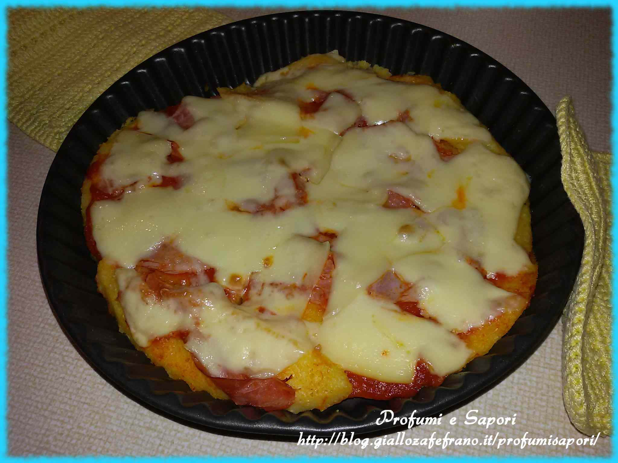 Ricetta: Finta pizza di polenta