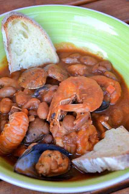 Ricetta: Zuppa di fagioli e frutti di mare