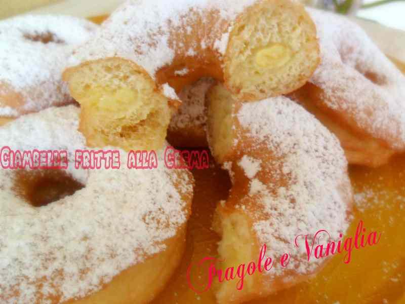 Ricetta: Ciambelle fritte alla crema