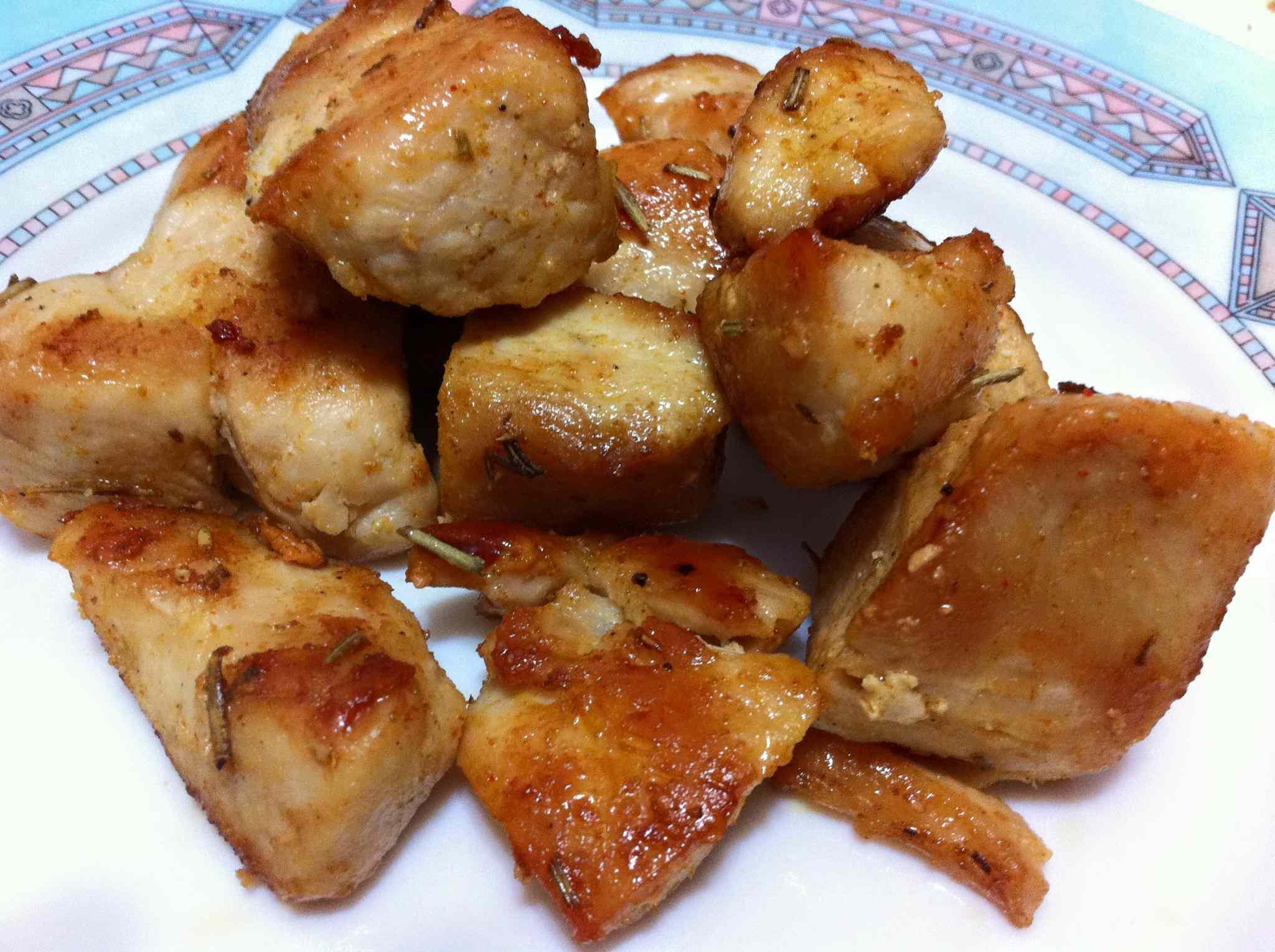 Ricetta: Bocconcini di pollo alla senape e limone