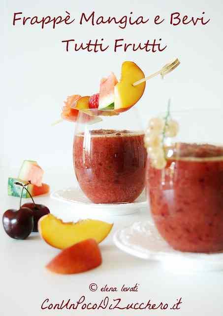 Ricetta: Frappe mangia e bevi tutti frutti