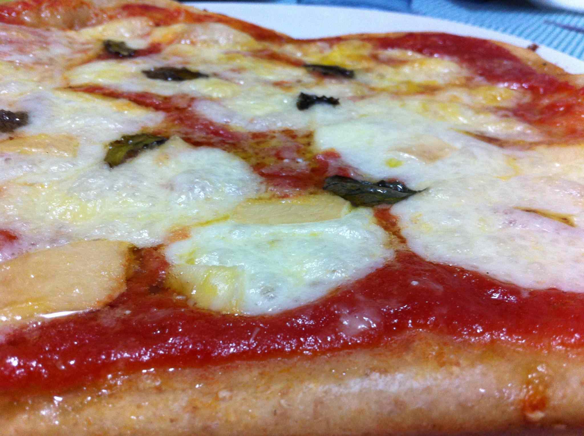 Ricetta: Pizza margherita con farina integrale