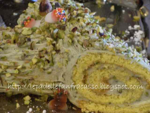 Ricetta: Un tronchetto al pistacchio