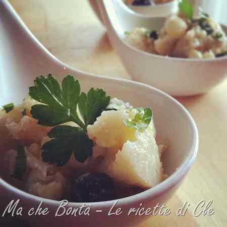 Ricetta: Cavolfiori stufati con le olive