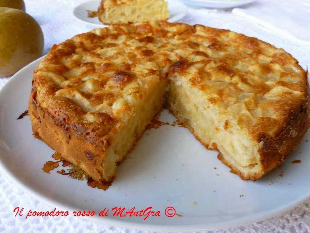 Ricetta: Torta di mele senza burro e latte