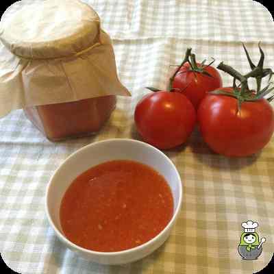 Mermelada de tomate. Marmellata di pomodoro