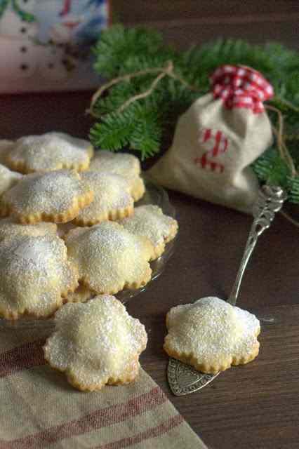 Ricetta: Biscotti con ripieno di castagne e mirtilli rossi