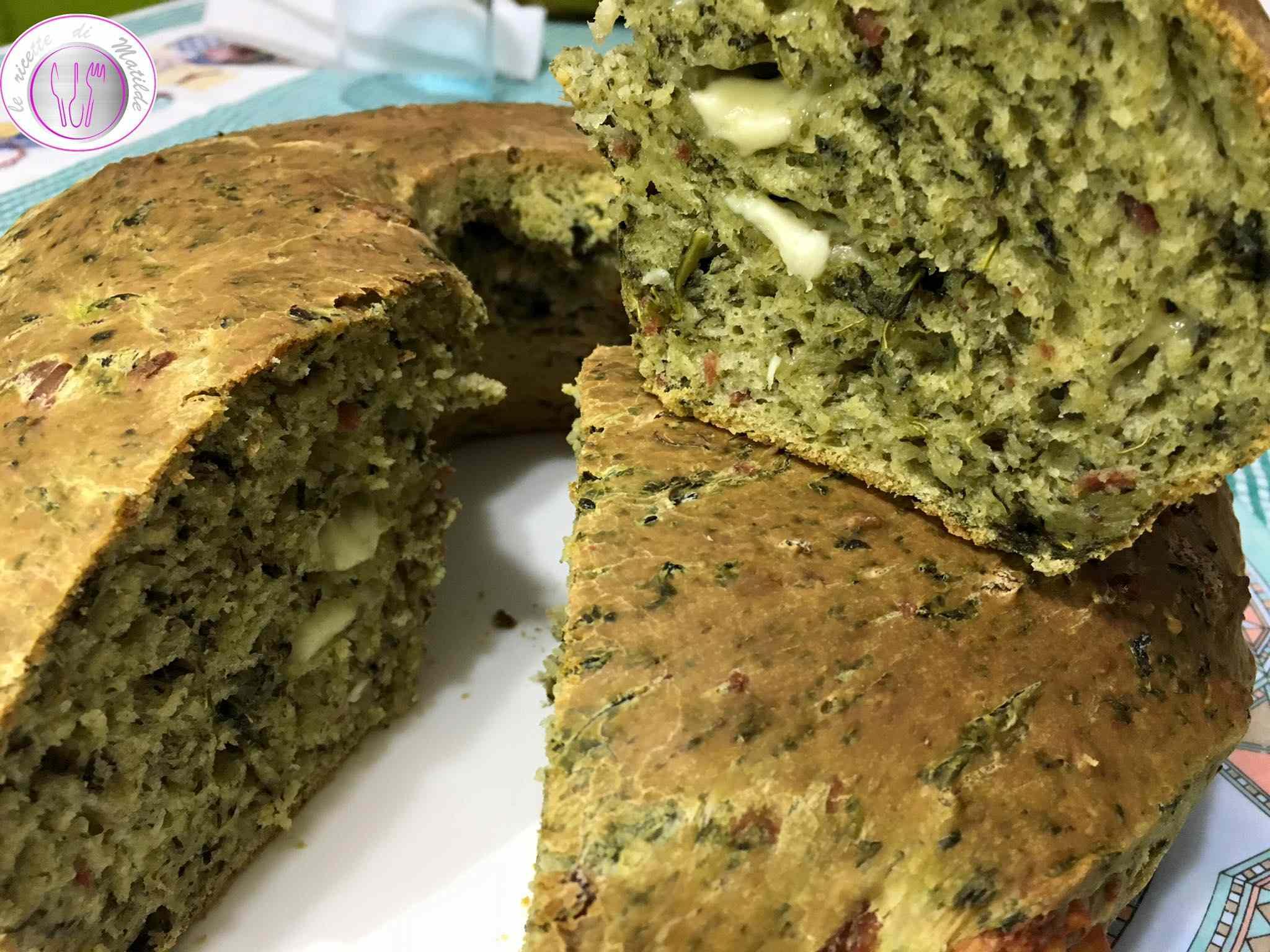 Ricetta: Rustico con friarielli, salame e mozzarella di bufala