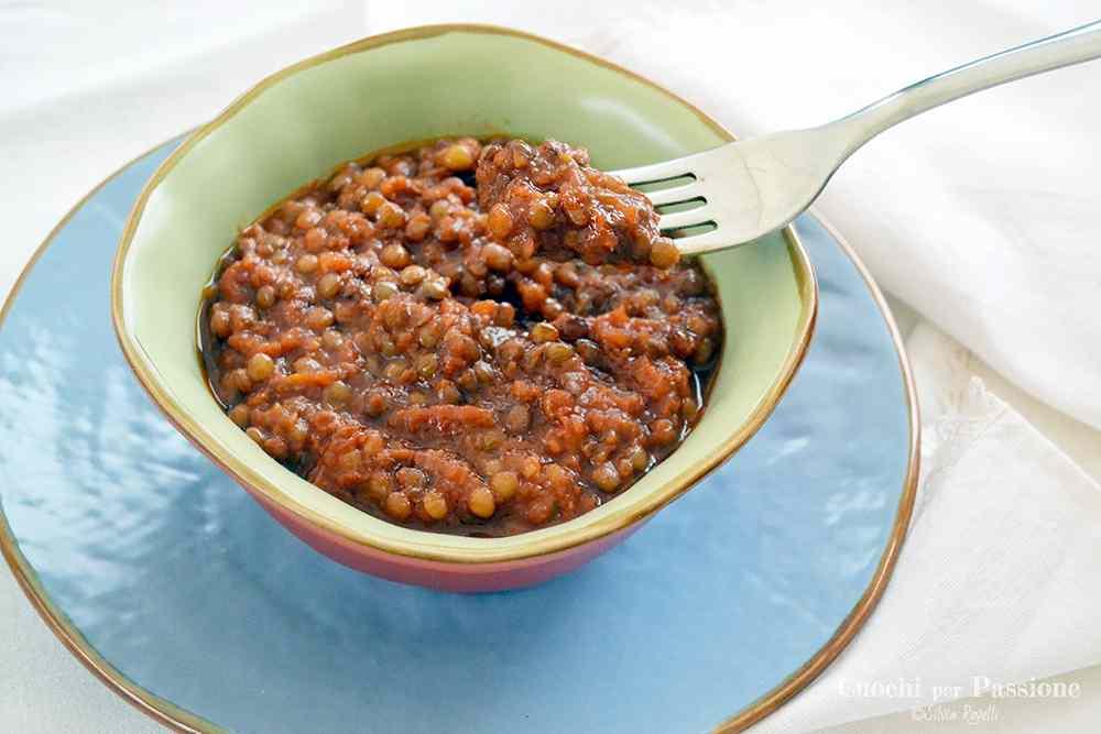 Ricetta: Lenticchie al Pomodoro