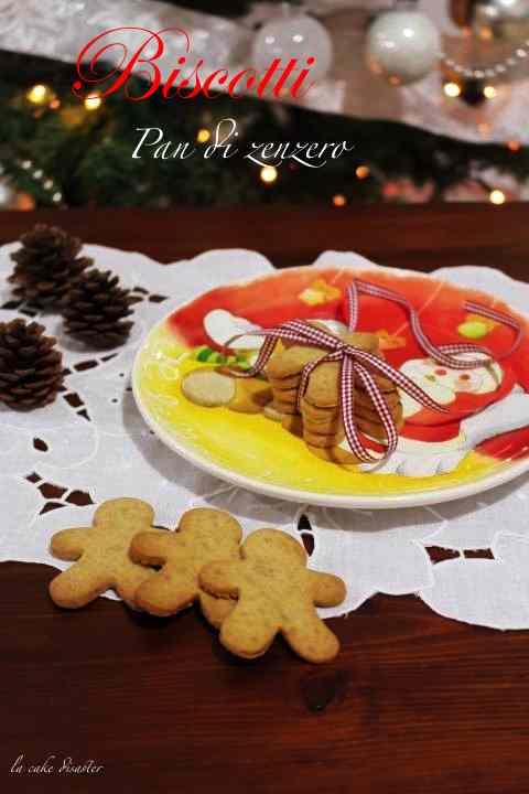 Ricetta: Biscotti Pan di Zenzero