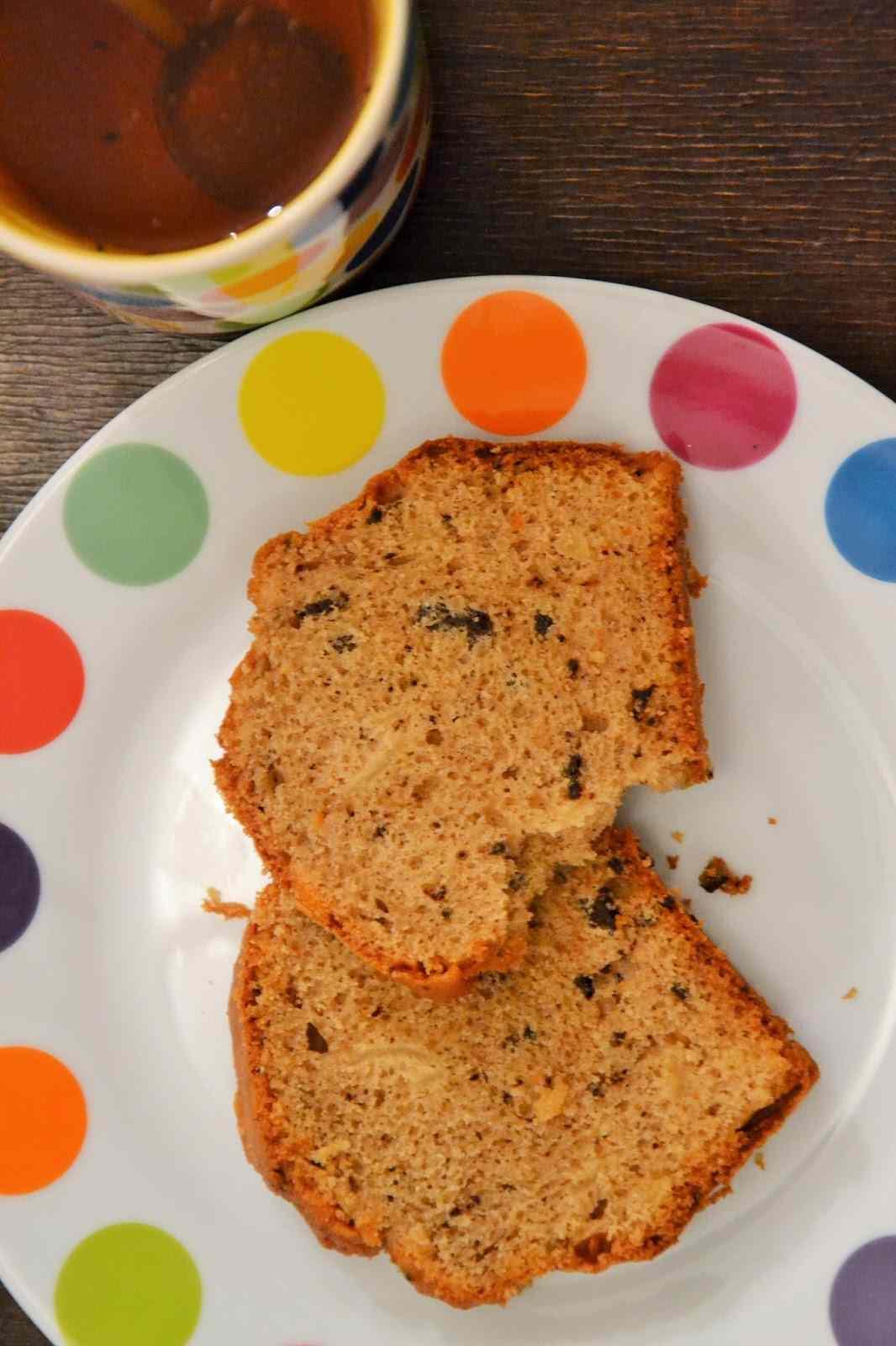 Ricetta: Cake con scorze di mandarini canditi e cioccolata fondente