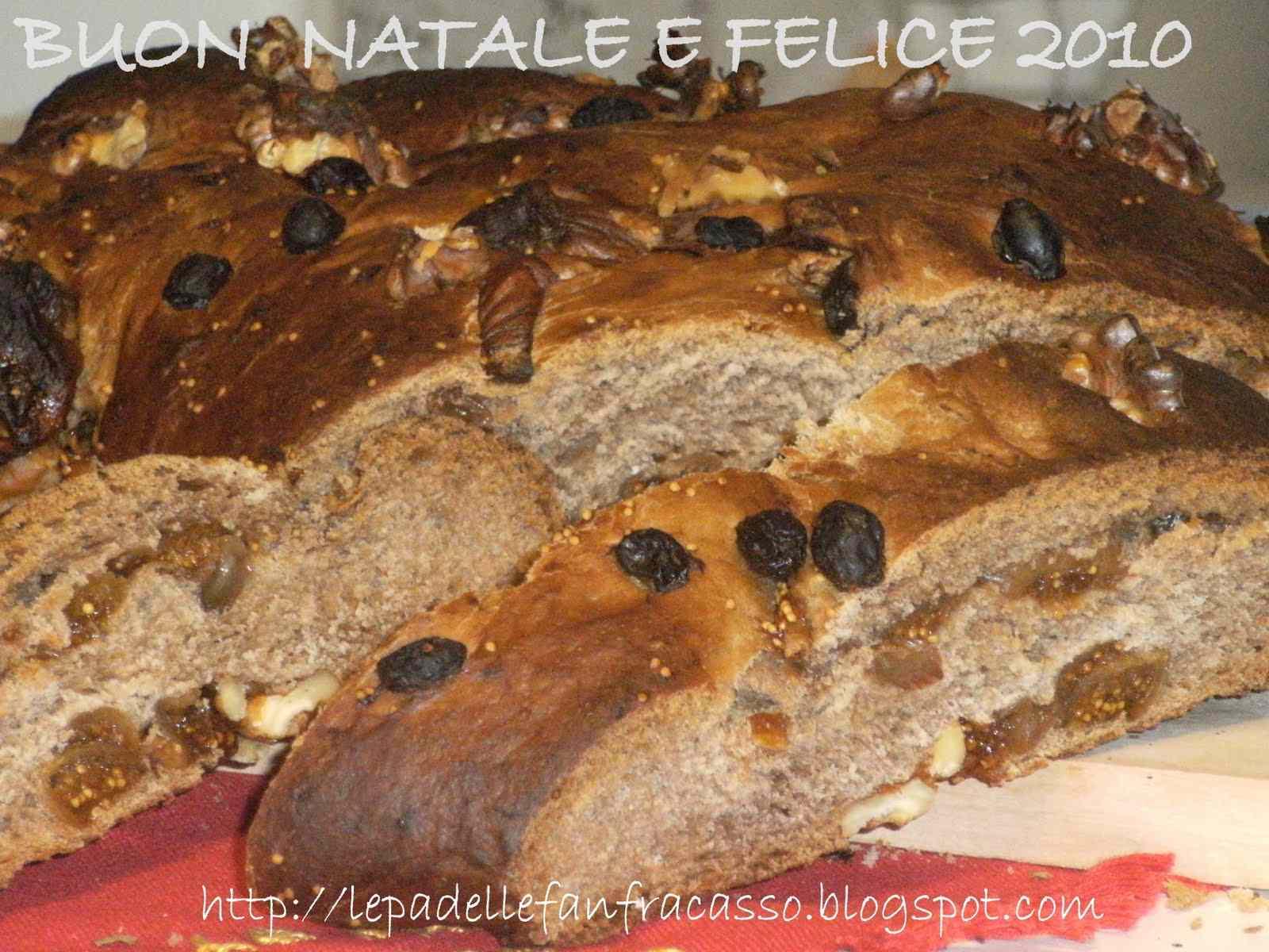 Ricetta: Un pane dolce con fichi e noci