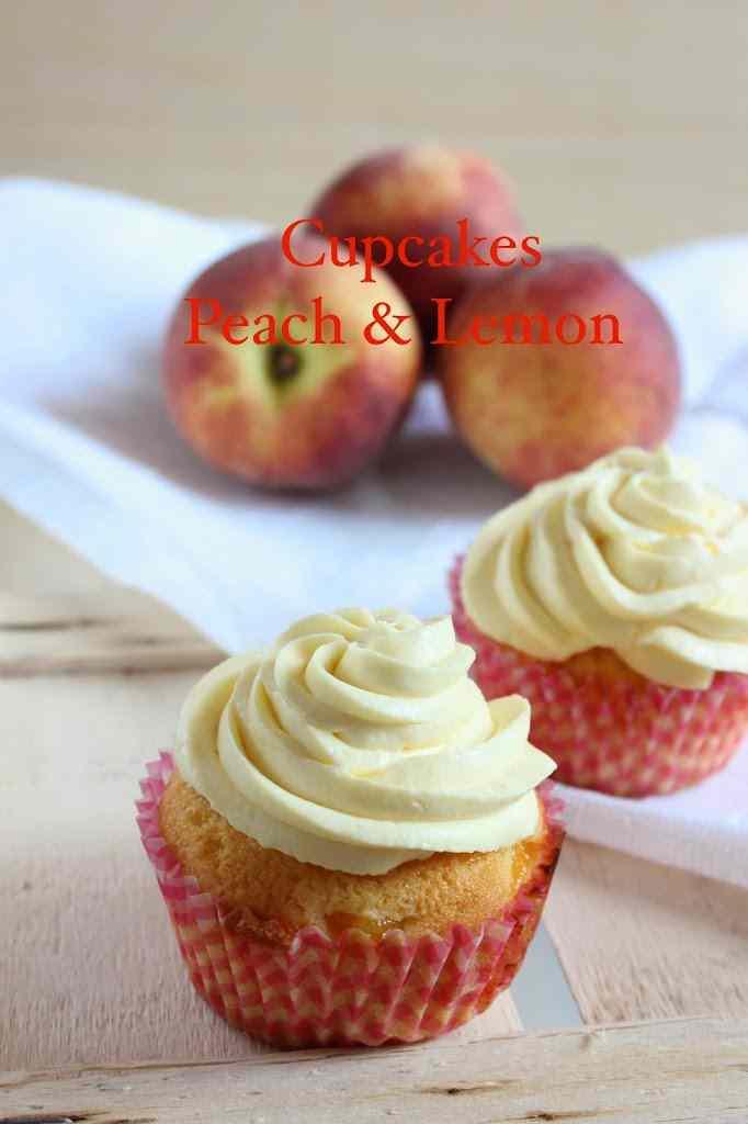 Ricetta: Cupcakes Peach & Lemon