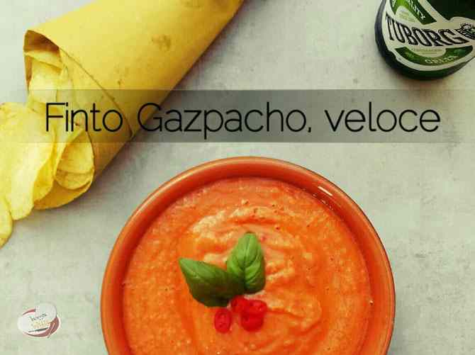 Ricetta: Falso Gazpacho, Veloce
