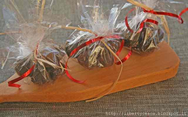 Ricetta: Tartufini di cioccolato e nocciole