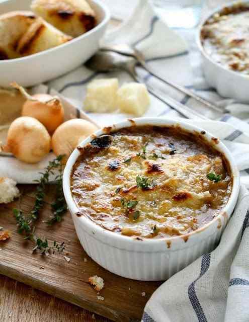 Ricetta: Zuppa di cipolle alla francese
