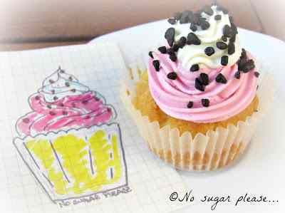 I miei cupcake... da favola...