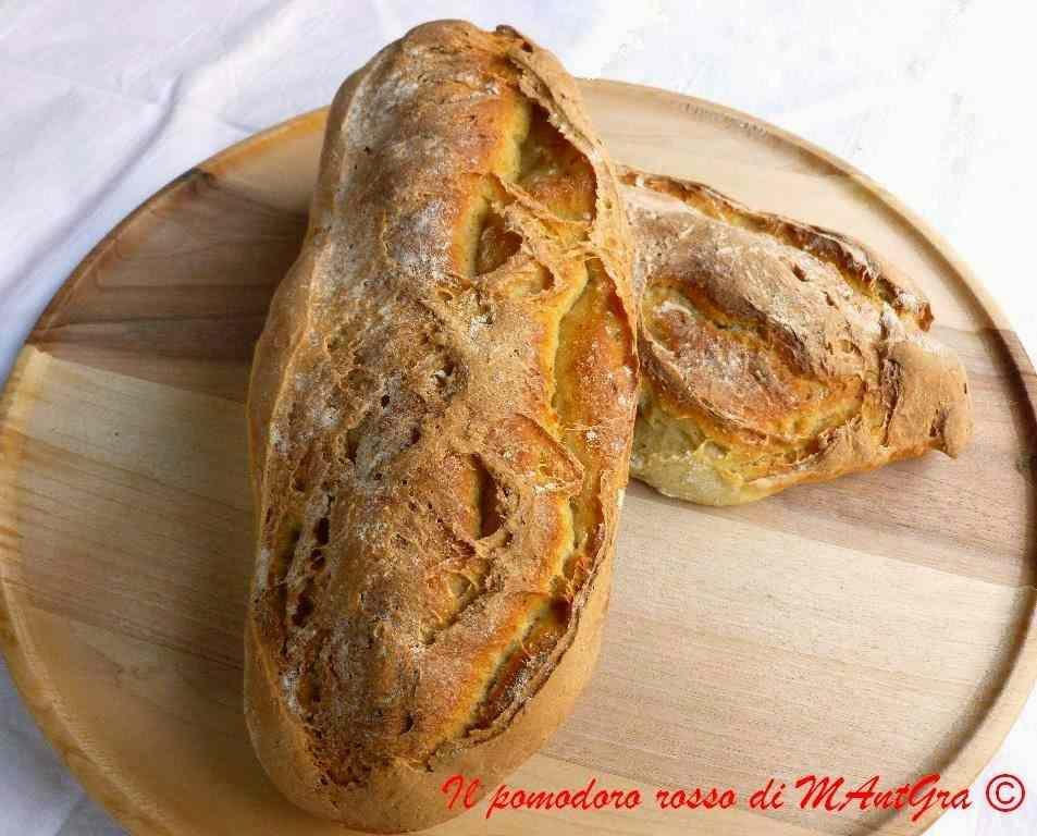 Ricetta: Ciabatte di pane
