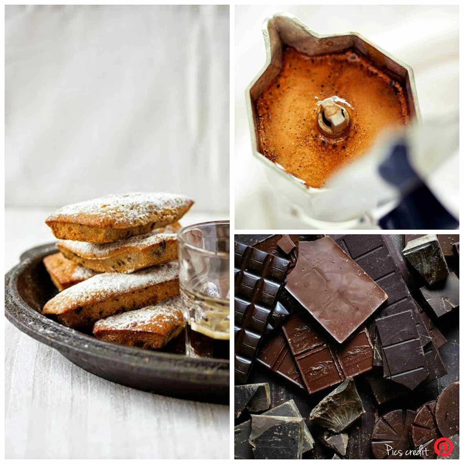 Ricetta: Dolcetti al caffe con gocce al cioccolato