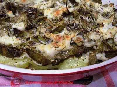 Ricetta: Gratin di carciofi e patate