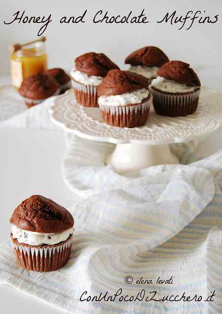 Ricetta: Honey and Chocolate Muffins