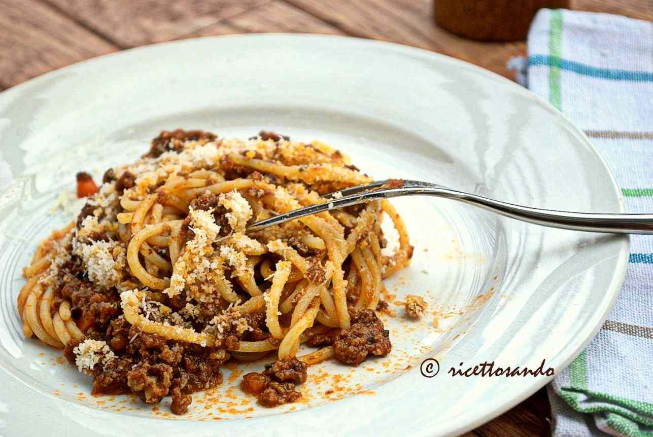 Ricetta: Ragu di carne (bolognese)