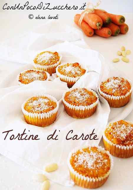 Ricetta: Tortine di carote senza glutine