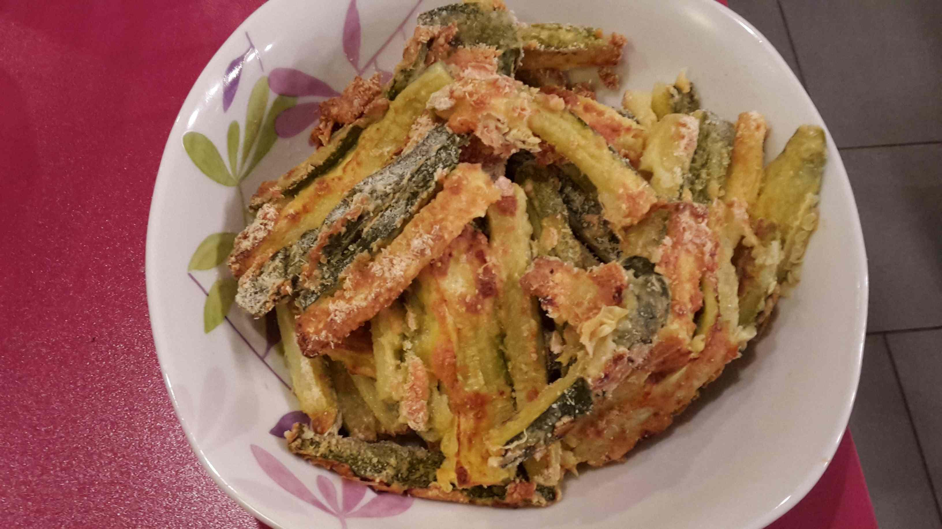Ricetta: Stick di zucchine al forno