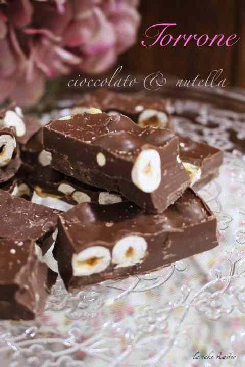 Ricetta: Torrone cioccolato e nutella