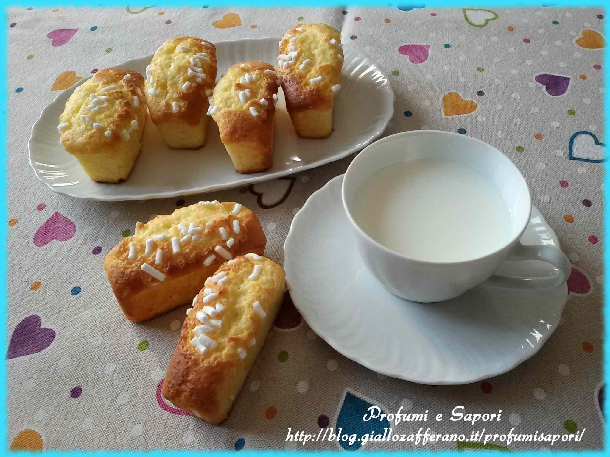 Ricetta: Mini plumcake allo yogurt