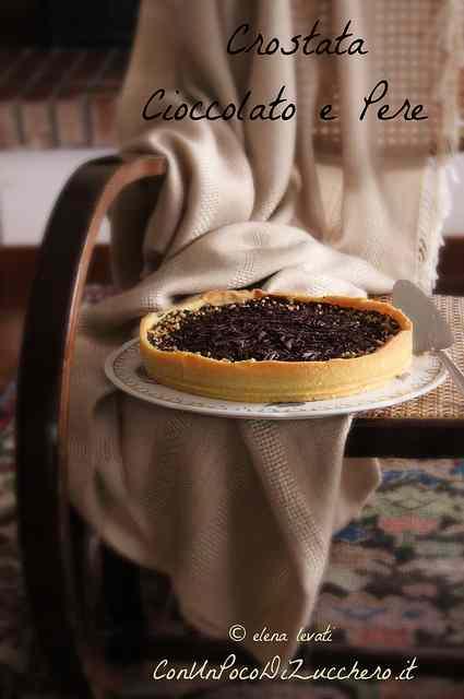 Ricetta: Crostata Cioccolato e Pere