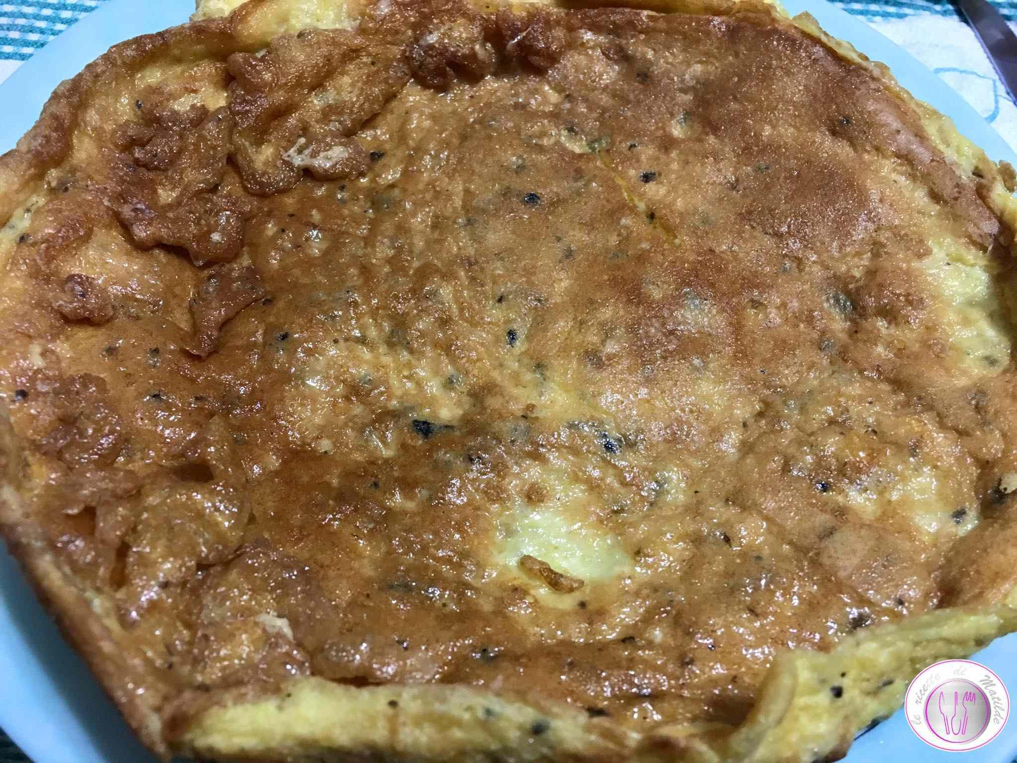 Frittata al tartufo nero