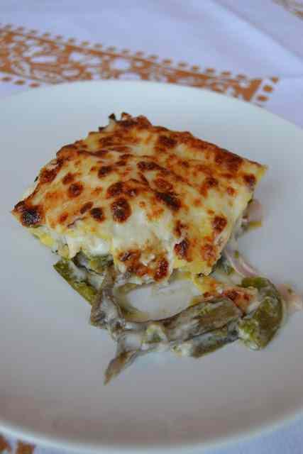 Ricetta: Lasagne primaverili agli asparagi e carciofi
