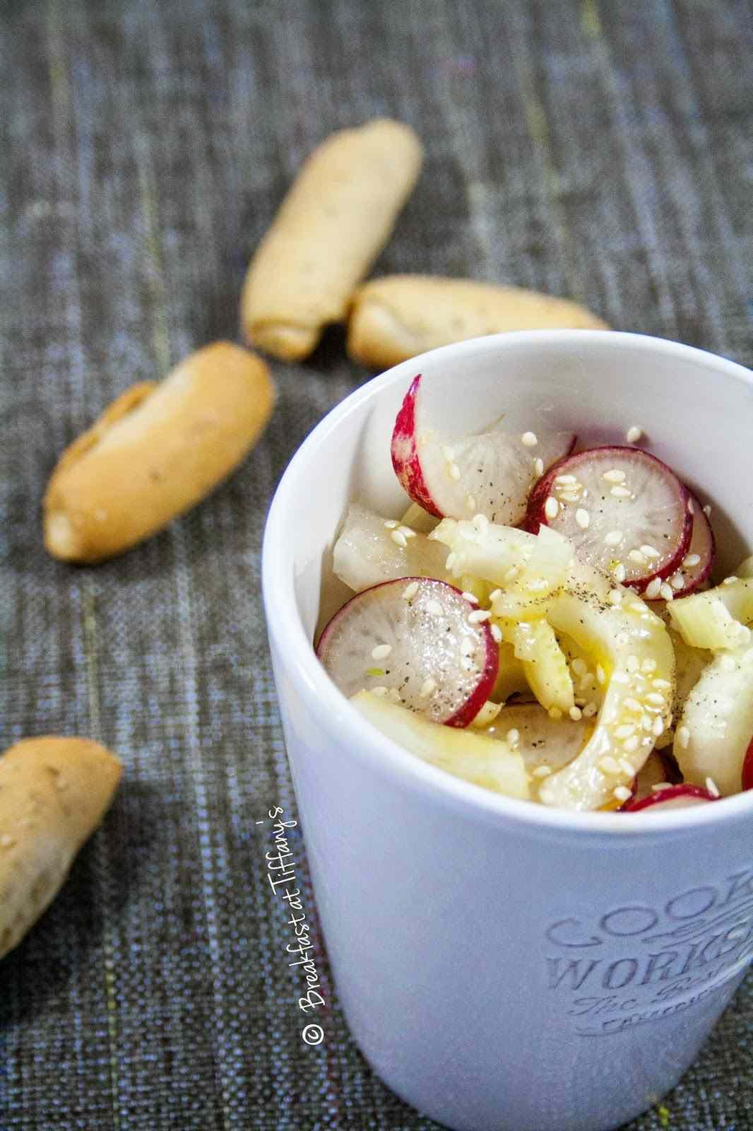 Ricetta: Insalata ravanelli e finocchio / Radishes and fennel salad