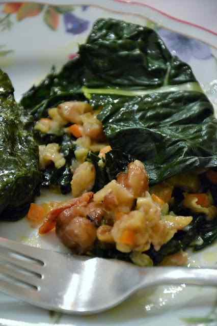 Ricetta: Fagottini di cavolo nero con ripieno goloso di castagne
