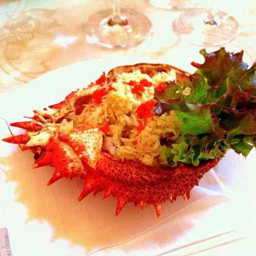Ricetta: Granseola alla veneziana