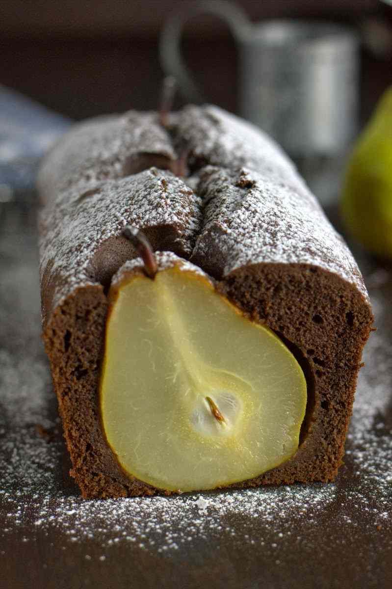 Ricetta: Torta al cacao e pere